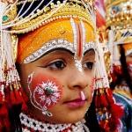 Indian children dressed as Hindu deities Lord Ram and Lakshman take part in a procession to commemerate the birth anniversary of Shri Madhavrao Sadashivrao Golwalkar (Shri Guruji) in Amritsar,19 November 2006.  Shri Guruji who was born in 1906,was the second all-Bharat Chief of the Rashtriya Swayamsevak Sangh and taught at Banaras Hindu University AFP PHOTO /NARINDER NANU  (Photo credit should read NARINDER NANU/AFP/Getty Images) (Newscom TagID: afpphotos2312524)     [Photo via Newscom]