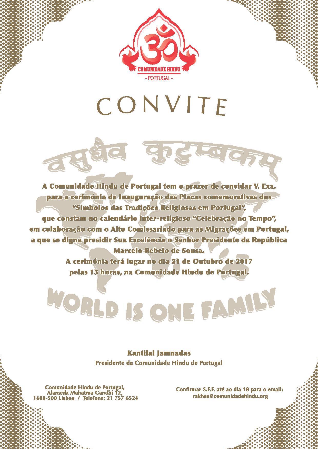CONVITE-CHP
